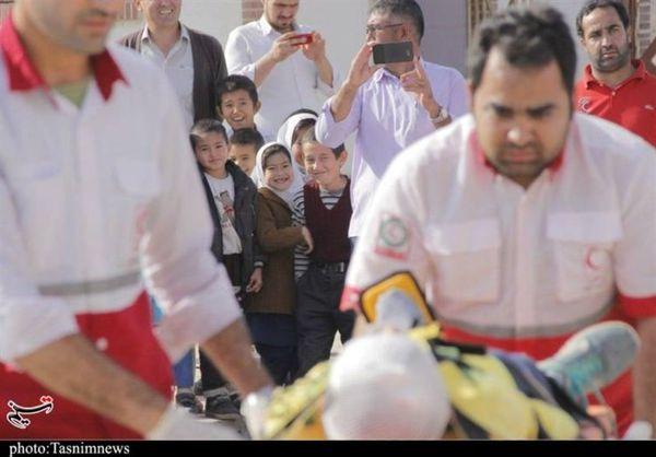 مانور منطقهای جمعیت هلالاحمر شمال کشور در گلستان برگزار شد
