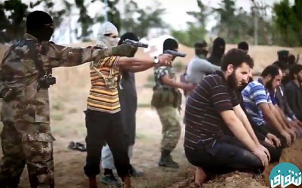 عکس تیر خلاص داعشی ها به سر جوانان عراقی