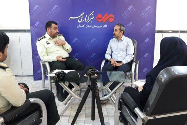 کاهش وقوع قتل در استان گلستان