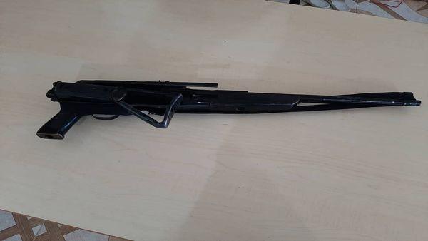 کشف و ضبط یک قبضه اسلحه شکاری شبه جنگی در مینودشت