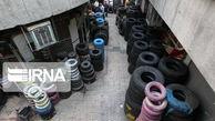 کشف ۵۹۰ حلقه لاستیک قاچاق در گلستان و چند خبر کوتاه