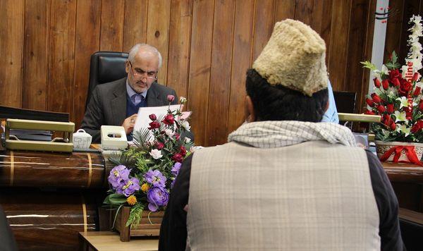 رسیدگی به مشکلات ۶۳ نفر در ملاقات مردمی امروز رئیس کل دادگستری گلستان و معاونان وی