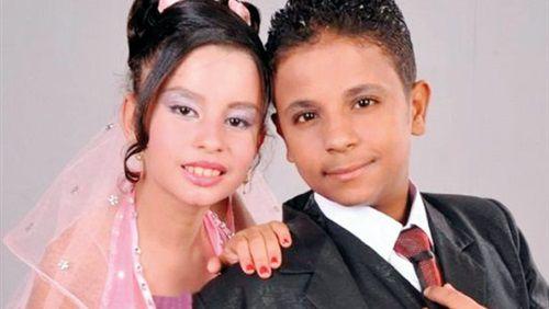 عروسی های خردسال در مصر +تصاویر