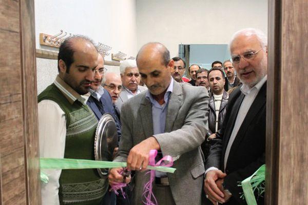 افتتاح سالن ورزشی تیراندازی شرکت گاز گلستان+تصاویر