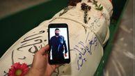 فیلم/ پیکر مطهر شهید پاشاپور در معراج شهدای تهران