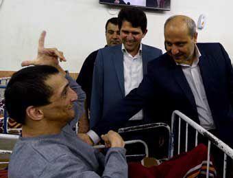 گزارش تصویری / بازدید استاندار گلستان از مرکز توانبخشی نگهداری معلولین ذهنی در گرگان