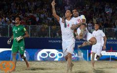 جام بین قارهای فوتبال ساحلی  قهرمانی تیم ملی ایران با پیروزی برابر روسیه