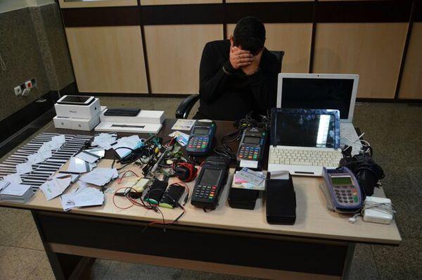 دستگیری سارق اسکیمری با بیش از ۲۰۰ شاکی