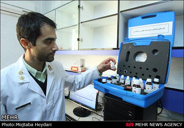 افتتاح آزمایشگاه آنالیز موادمخدر + فیلم