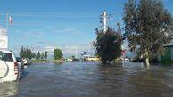 سیلاب در راه آق قلا/ افزایش ۲۵ سانتی متری آب در برخی از مناطق
