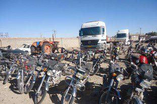 توقیف موتورسیکلت های متخلف در استان