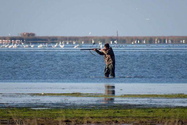 هفت شکارچی غیر مجاز در خلیج گرگان دستگیر شدند