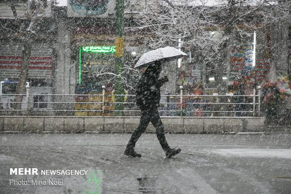 برف به شهرهای گلستان رسید/سامانه سرد استان را ترک می کند