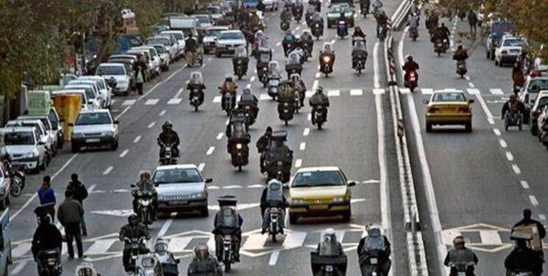 فیلم/ هشدار پلیس به موتورسواران تهرانی