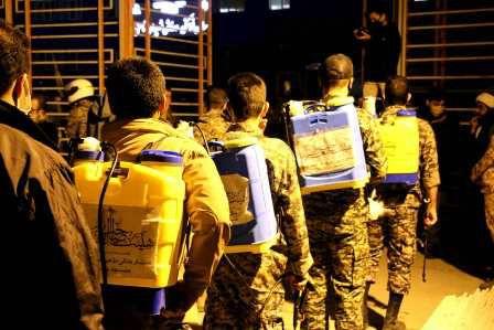 تلاش گروه های جهادی دانش آموزان گرگانی برای حصر خطرهای کرونا