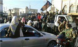 اولین تصاویر از داخل شهر آزاد شده «نبل» و استقبال مردم از رزمندگان مقاومت