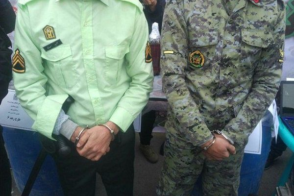 دستگیری مأموران قلابی در آزادشهر