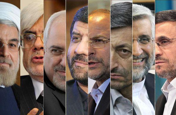۸ نامزد احتمالی انتخابات ریاست جمهوری ۹۶