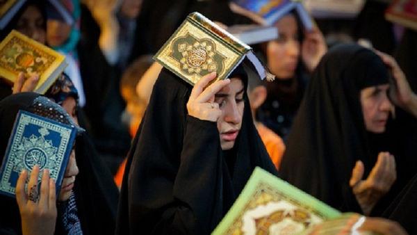 برگزاری مراسم احیای شب ۲۳ ماه مبارک رمضان در مصلی گرگان