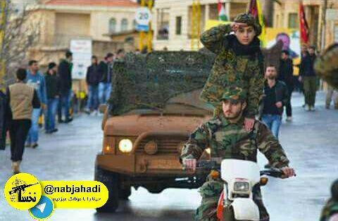 رژه نیروهای حزب الله (2)