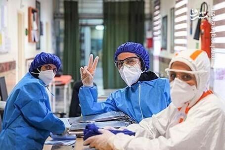 فیلم/ آمار پرسنل مبتلا به کرونا در بیمارستان بقیه الله
