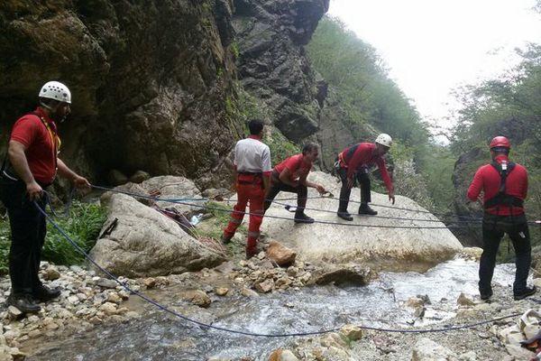 ۲ کوهنورد مفقود شده در «باران کوه» به گرگان منتقل شدند