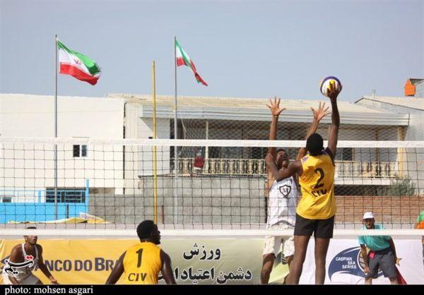 برنامه مسابقات بینالمللی والیبال ساحلی تور تکستاره بندترکمن اعلام شد