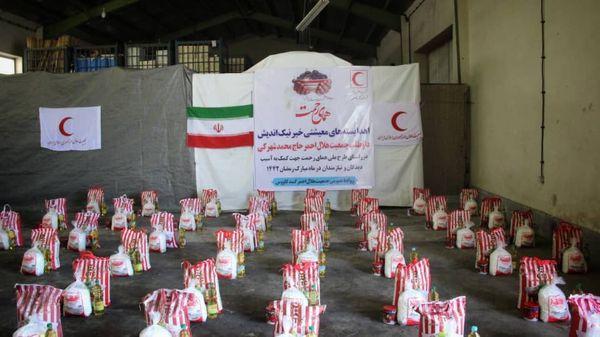 اهدای ۱۶ هزار بسته معیشتی به همت خیر نیک اندیش و داوطلب گنبدکاووسی
