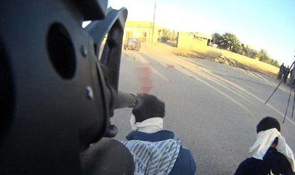 روش داعش برای فیلم گرفتن از اعدامها+تصاویر