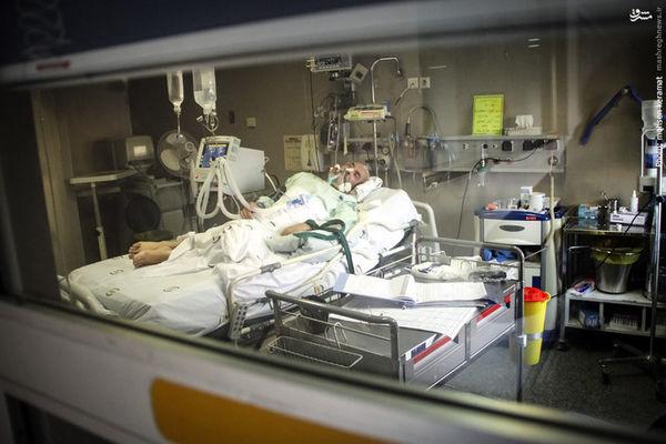 عکس/ بستریشدن «فرجالله سلحشور» در بخش مراقبتهای ویژه