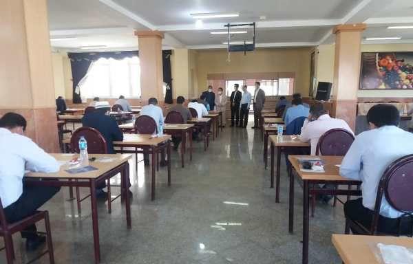 برگزاری دو آزمون همزمان در مدیریت درمان تامین اجتماعی گلستان