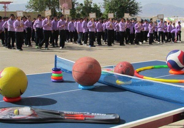 سرانه فضای ورزش دانشآموزی گلستان بالاتر از میانگین کشور است