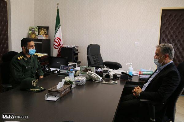 دیدار مدیرکل حفظ آثار دفاع مقدس گلستان با معاون استاندار