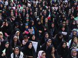 اجتماع ۳۰۰۰ نفری «دختران زینبی، بانوان فاطمی» در گرگان برگزار شد