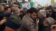 تشییع پیکر جانباز شهید مرتضی حسینی در گلستان + تصاویر