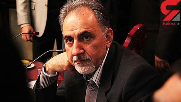 خروج پنهانی شهردار اسبق تهران پس از بازسازی صحنه قتل همسرش! + فیلم