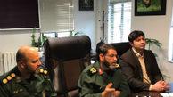 دیدار ملی پوشان و نخبگان ورزشی با فرمانده سپاه گلستان
