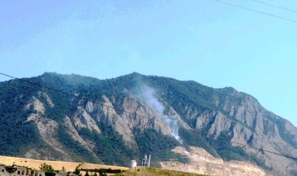 تشکیل پرونده آتش سوزی جنگل نیلکوه گالیکش