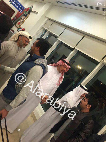 عکس/ دیپلماتهای سعودی از ایران به کجا رفتند