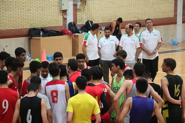 برگزاری بسکتبال نوجوانان غرب آسیا در گلستان