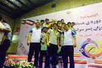 گلستان قهرمان مسابقات والیبال دانش آموزی کشور در مقطع متوسطه اول شد