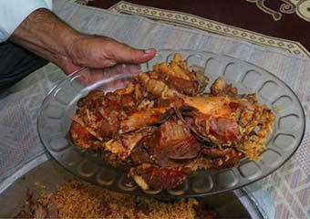 گزارش تصویری/ چکدرمه غذای ترکمنها در عید قربان