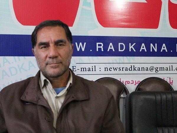 سردار شریف سخنران بیست و چهارمین یادواره شهدای روستای النگ کردکوی