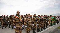 آغاز رژه خدمت به مناسبت روز ارتش در گلستان/ تجهیزات نیروهای مسلح سد آهنین مقابل دشمنان