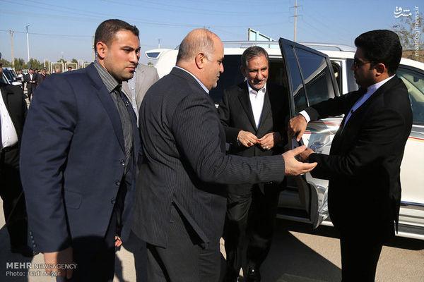 عکس/خودروی شاسی بلند جهانگیری در سفر خوزستان