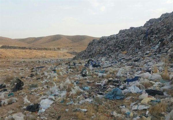 مشکلات زیست محیطی سایت زباله آزادشهر رفع میشود