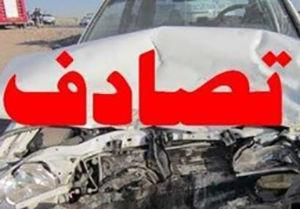 ۲مصدوم در حادثه تصادف در گلستان