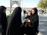 """""""طرح خوش حجابی"""" در امامزاده یحیی بن زید(ع) برگزار شد+ تصاویر"""