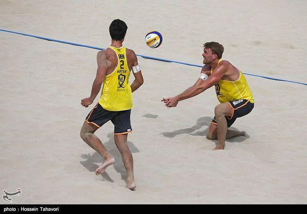 مسابقات والیبال ساحلی تور جهانی بندرترکمن با شرکت ۱۵ تیم برگزار میشود