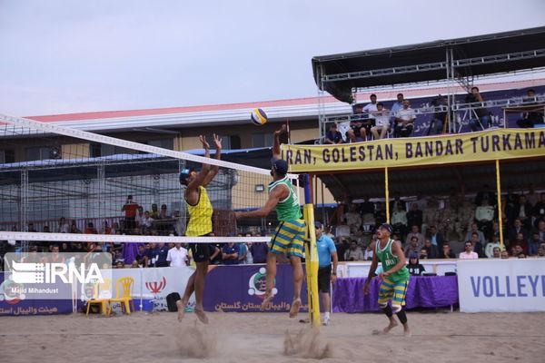 تیم ملی والیبال ساحلی با گلستانیها راهی انتخابی المپیک شد